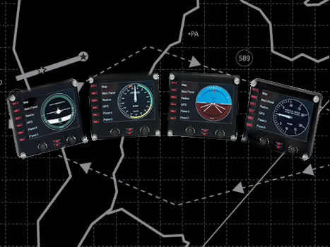 Indicadores EXTRA Pro Flight Instrumental Panels